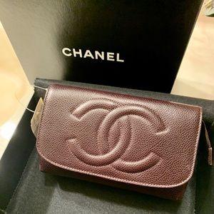 Chanel Bags Cosmetic Bag Box Case Poshmark